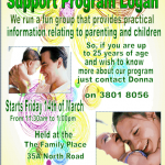 Young Parents Support Program Logan