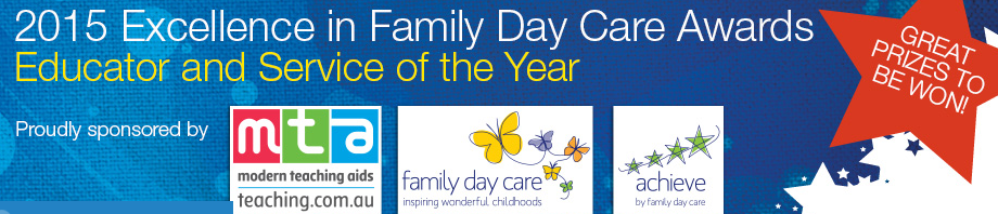 2015 Excellence in Family Day Care Awards