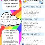 Griffith University FREE Parent Workshops